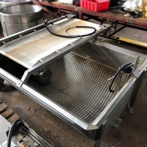 Stainless Steel Tub/Bath, jacketed,