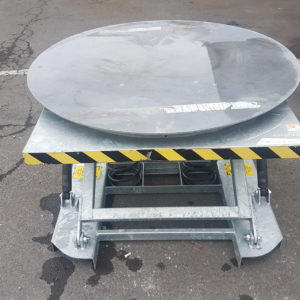 Galv. Spring Loaded Pallet Lift Table